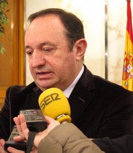 Pedro Sanz, Presidente Del Gobierno De La Rioja