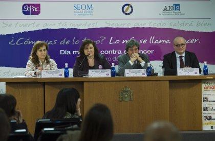 En 2012 se detectarán en España más de 208.000 nuevos casos de cáncer