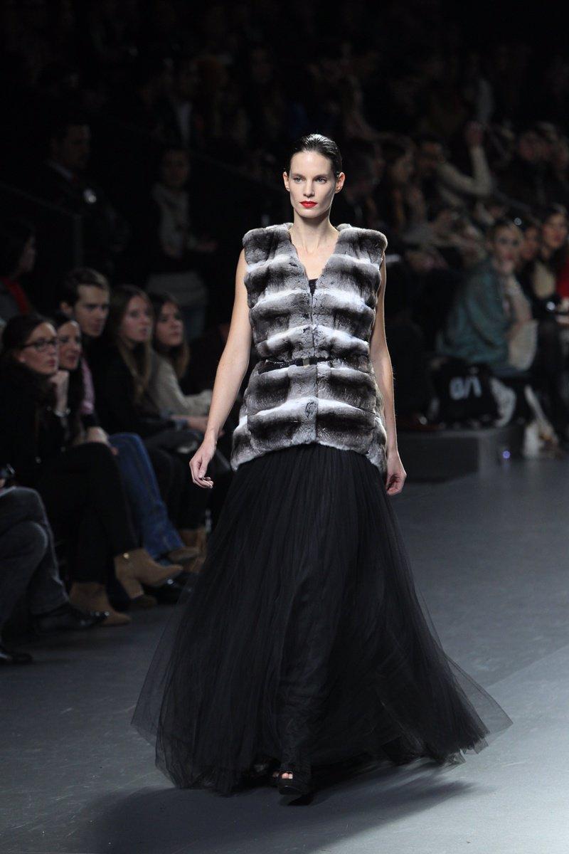 Modelo Jesús Lorenzo En Mercedes- Benz Fashion Week Madrid