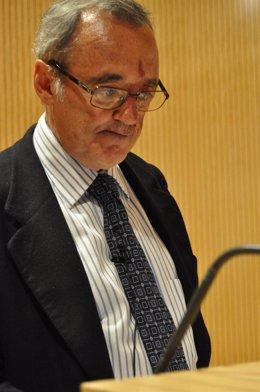 El Investigador Mariano Barbacid En Zaragoza.
