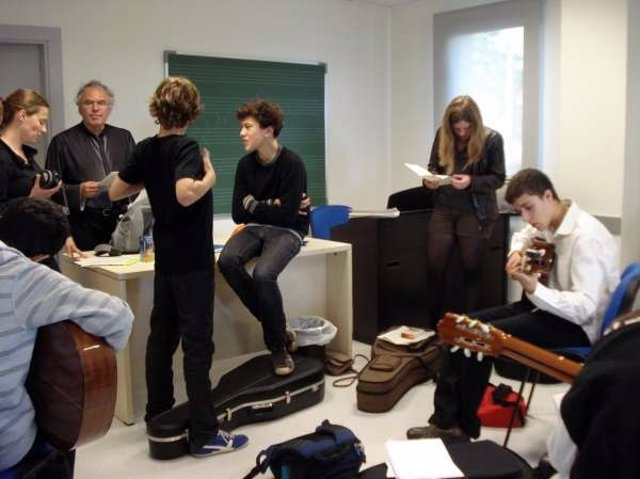 Alumnos Conservatorio Ataúlfo Argenta