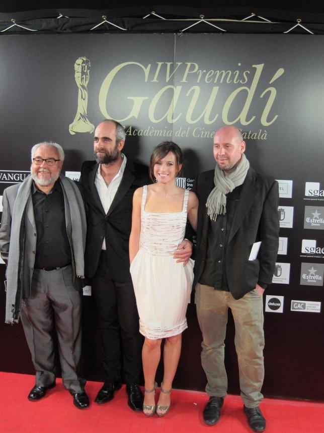 Julio Fernández, Luis Tosar, Marta Etura Y Jaume Balagueró De 'Mientras Duermes'