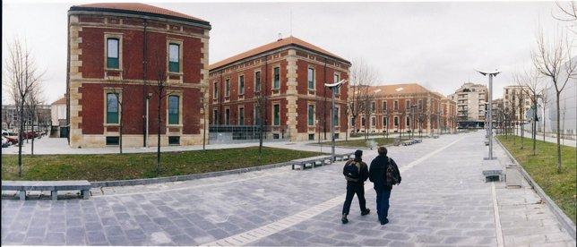 El Campus De La UPV En Vitoria.