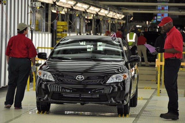 Producción Del Toyota Corolla En Mississippi (EEUU)