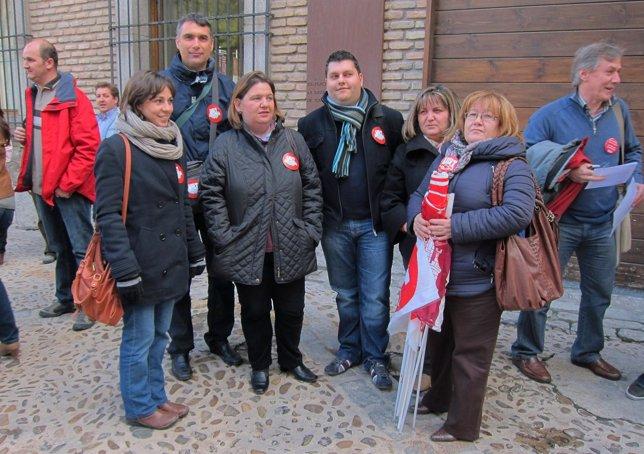 Sindicatos En La Delegación De La Junta De Toledo