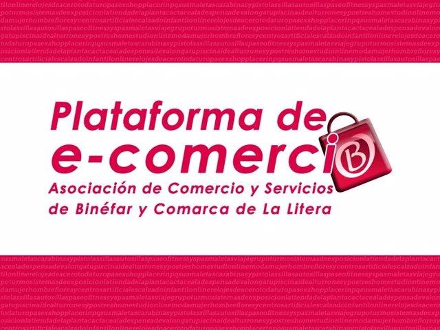 Logo De La Plataforma De Comercio Electrónico De La Litera.