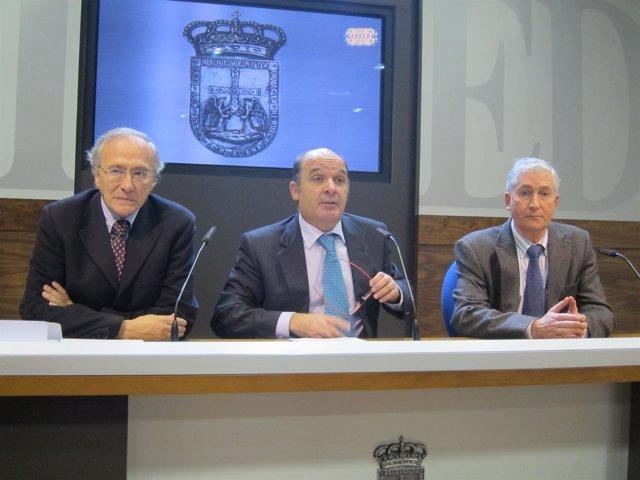 De Mesa Con Pedro Fernández Y Juan P. Zaldívar