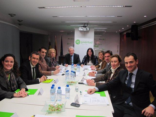 Reunión En El IRJ