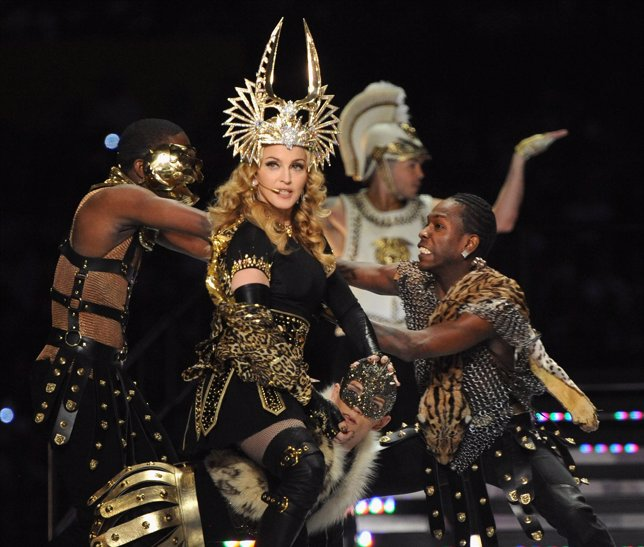 Madonna Durante La Super Bowl XLVI