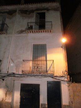 Derrumbe Parcial De Una Vivienda En Cartagena