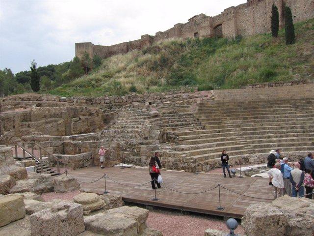 Alcazaba Y Teatro Romano De Málaga Turistas Viajeros