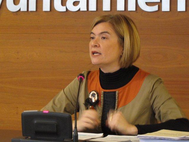 Paloma Corres En La Rueda De Prensa