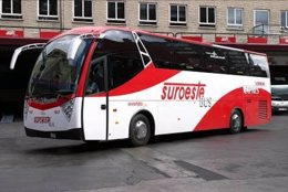 Autobús Del Grupo Avanza