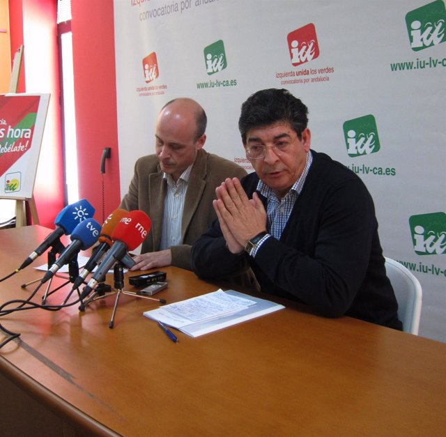 Diego Valderas, Hoy En Rueda De Prensa Junto Al Vicepresidente De EAPN