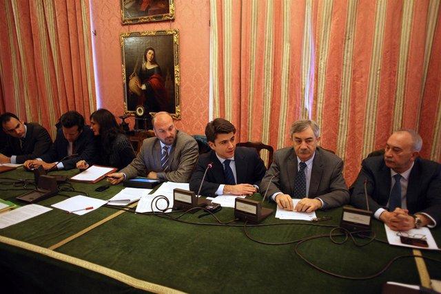 Los Concejales Francisco Pérez, Beltrán Pérez Y Demetrio Cabello