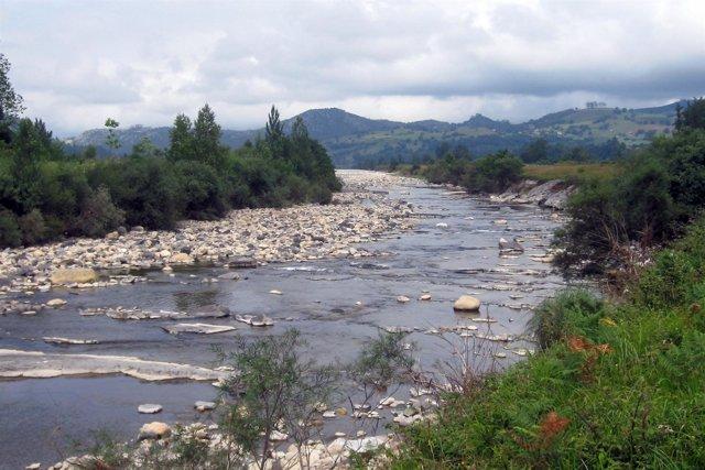 Río Pas en Cantabria