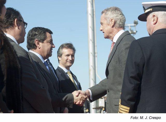 Loaiza este lunes con el ministro Morenés