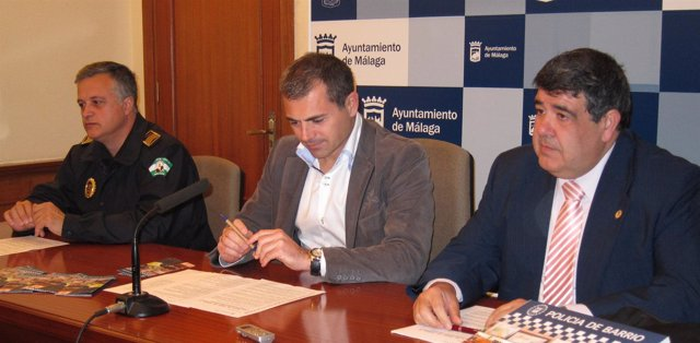 El Concejal De Seguridad Del Ayuntamiento De Málaga, Julio Andrade