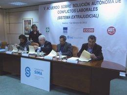 Firma Del ASAC En La Sede Del SIMA
