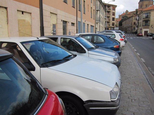 Automóviles Aparcados En Salamanca