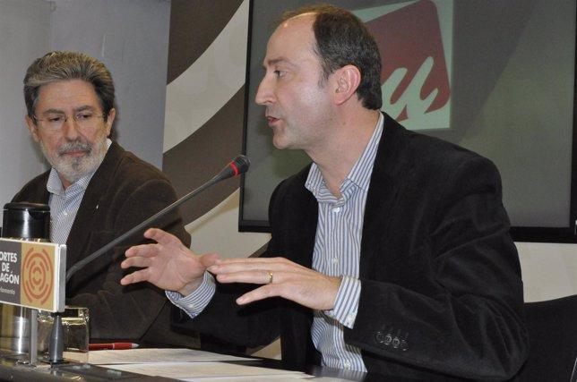 Adolfo Barrena Y Luis Ángel Romero, De IU
