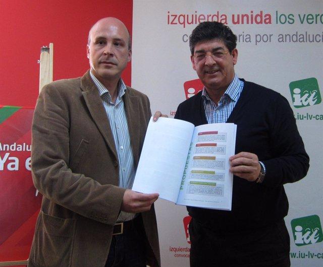 Diego Valderas, Hoy Junto A Mikel Araguas, Vicepresidente De EAPN