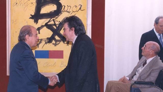 Antoni Tàpies Y La Obra Del Centenario Del FC Barcelona