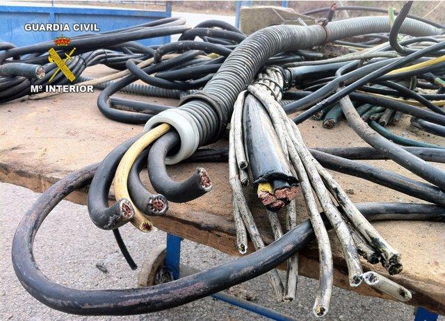 Cable De Cobre Intervenido