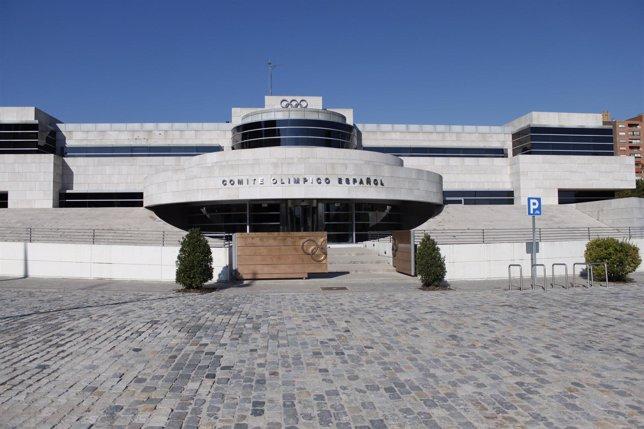 Edificio Del Comité Olimpico Español