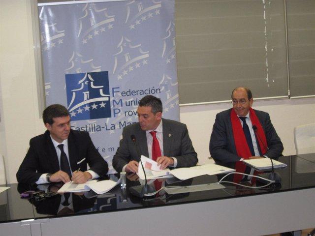 Firma Del Acuerdo Entre La FEMP Y GNF