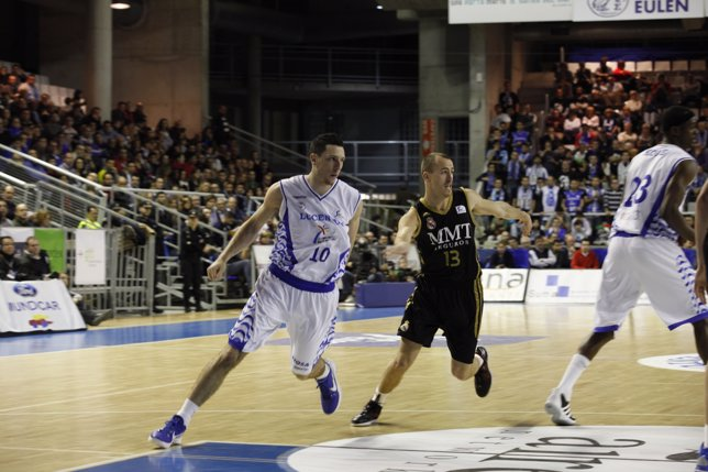 Andy Rautins Y S. Rodríguez, Lucentum Alicante - Real Madrid (Baloncesto)