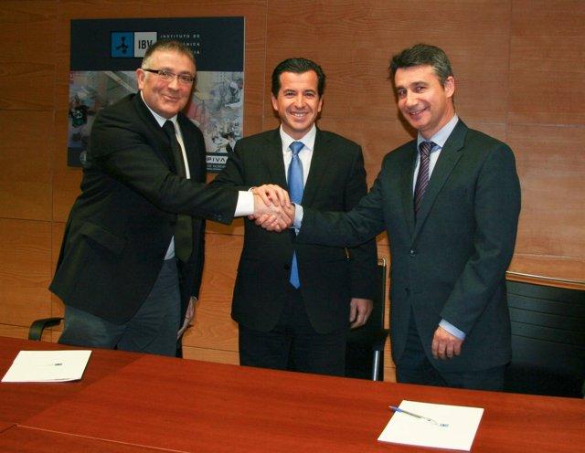 Firma Del Convenio Entre IBV Y AIJU