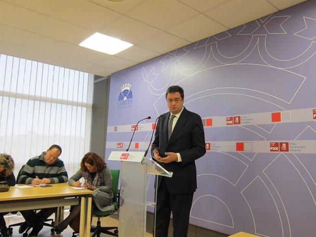 El Secretario De Organización Del PSOE, Óscar López