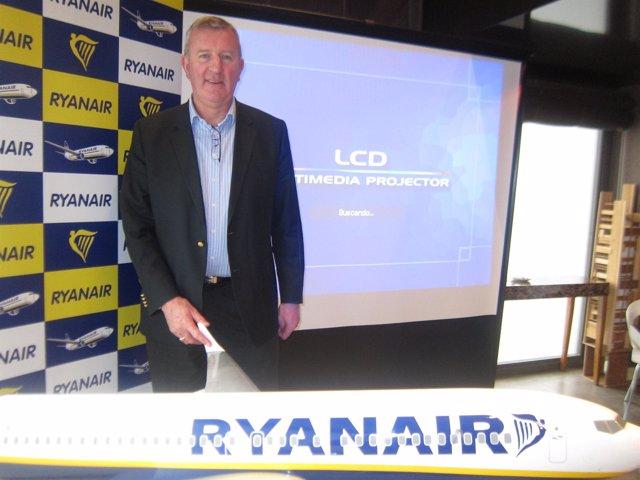 Michael Cawley, Vicepresidente De Ryanair