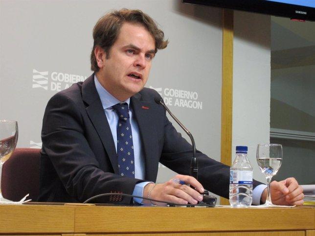Roberto Bermúdez De Castro, Consejero De Presidencia Y Justicia De Aragón