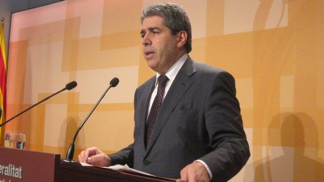 Francesc Homs, Portavoz De La Generalitat