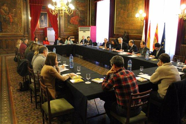 Reunión DPZ Y Comarcas Sobre El Circuito Cultural