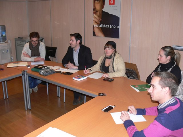 Reunión De Juventudes Socialistas En Granada