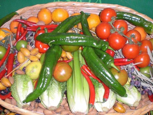 Frutas y hortalizas de  Almería