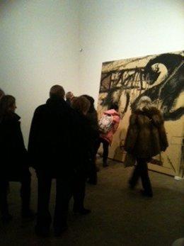 Obra 'Terròs' (1984) De Antoni Tàpies