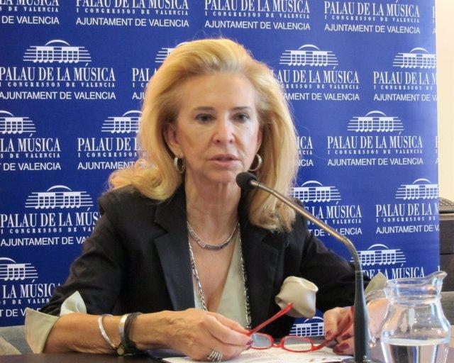 La Presidenta Del Palau De La Música De Valencia, Mayrén Beneyto