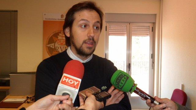 Jorge Carrasco, Concejal De Innovación Del Ayuntamiento De Cáceres