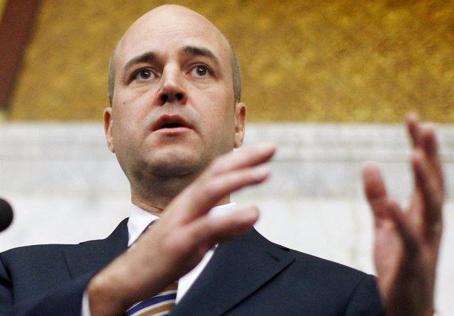 Fredrik Reinfeldt, primer ministro de Suecia