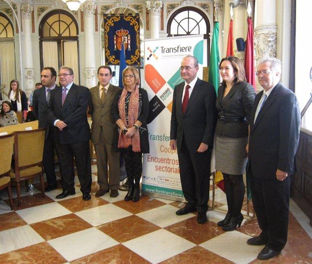 Presentación Del Foro Transfiere En Málaga