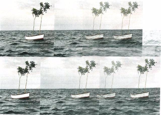 Obra De La Muestra 'Acoples', De Javier García Riobó