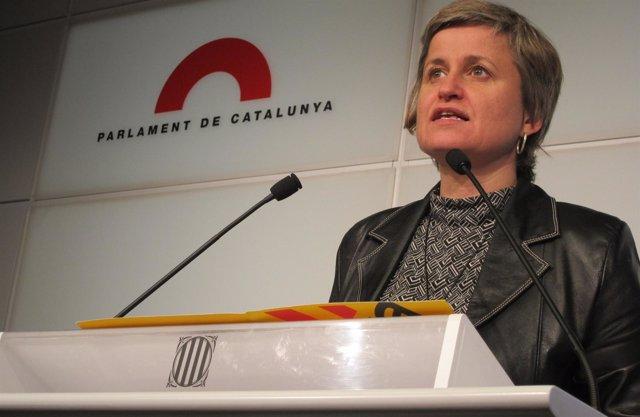 Anna Simó, Portavoz De ERC En El Parlament