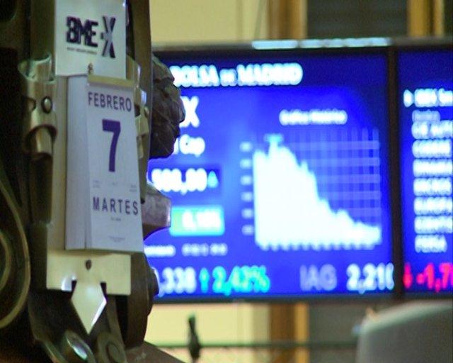 Ibex abre plano y se queda en los 8.400 puntos