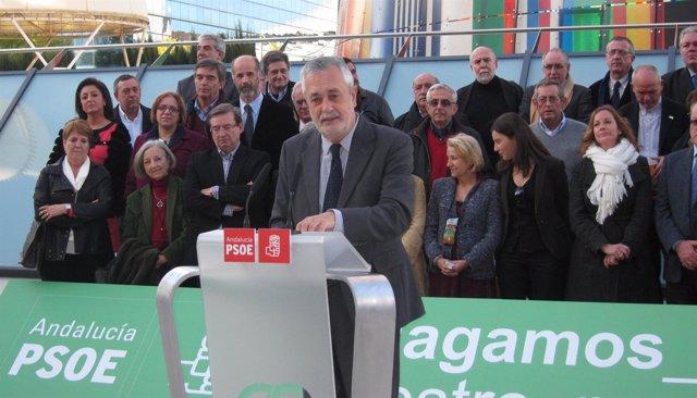 José Antonio Griñán, Este Martes En Rueda De Prensa