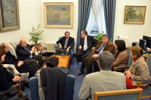 Gómez Sal Con El Alcalde
