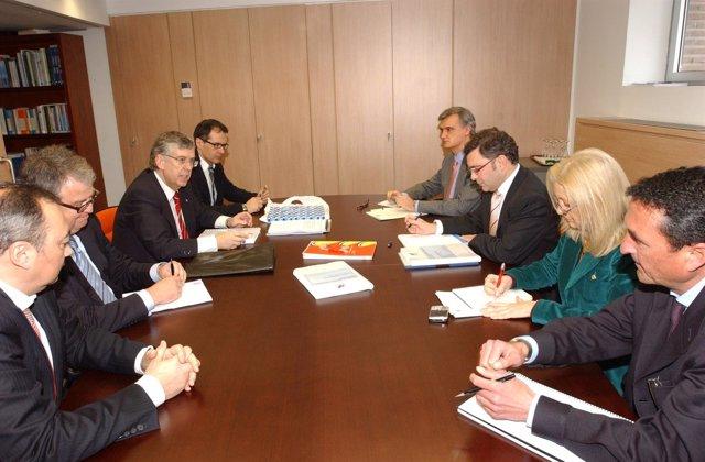 Reunión De Anfaco Con El Secretario General De Pesca